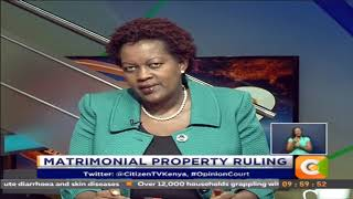 Opinion Court | Matrimonial Property Ruling #OpinionCourt