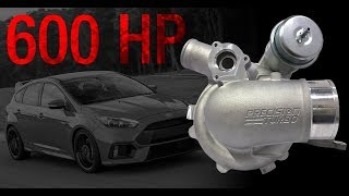 PTE / Turbonetics Drop-In Replacement Ford Focus RS Turbocharger