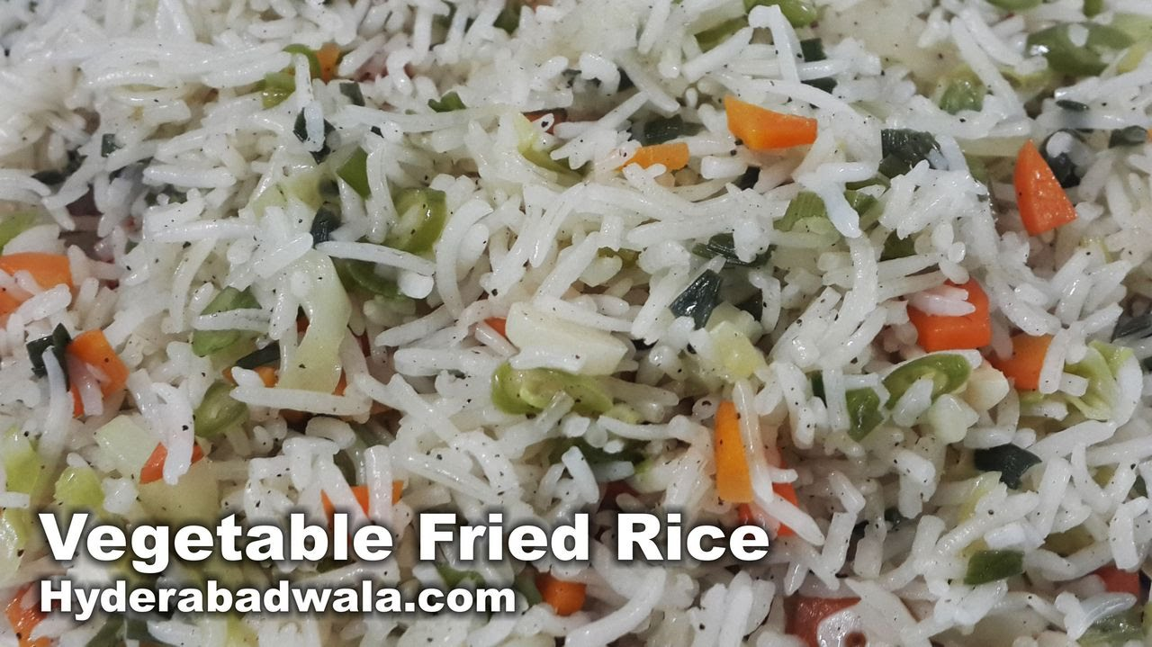 Vegetable fried rice recipe video how to make vegetable fried rice vegetable fried rice recipe video how to make vegetable fried rice at home very easy simple youtube ccuart Image collections