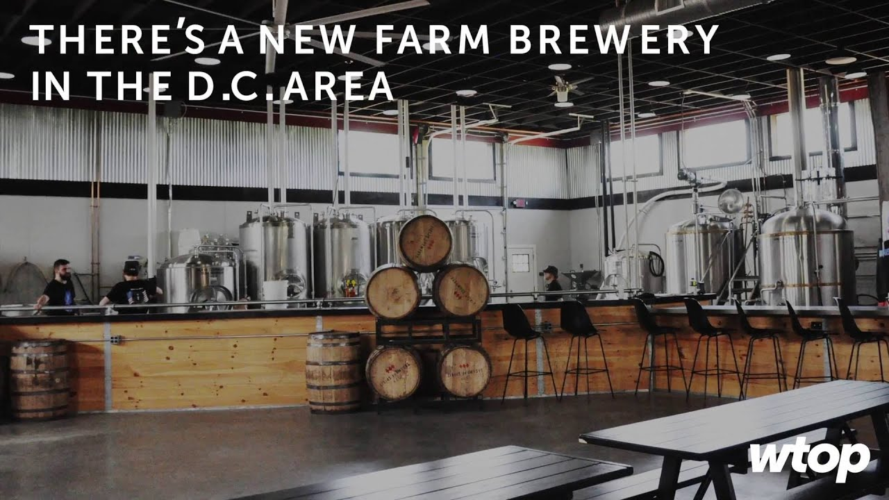 There s a new farm brewery in the D C area