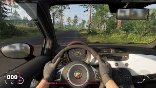 The Crew 2 - Abarth 500 2008 - Cockpit View Gameplay (PC HD) [1080p60FPS]