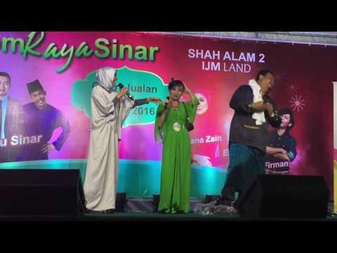 Ziana Zain Interview Peminat Setia @ Jom Raya Sinar Bersama IJM