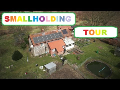 Full Grand tour of our smallholding. 2017