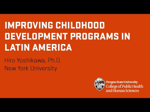 Improving the quality of early childhood development programs in Latin America