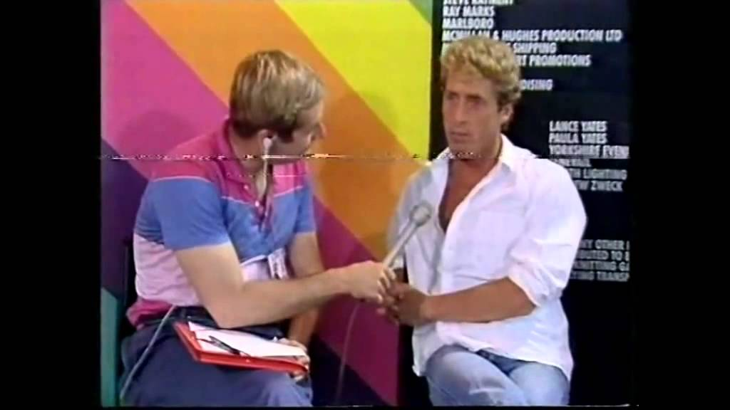BBC Interview - Roger Daltrey (BBC - Live Aid 7/13/1985)