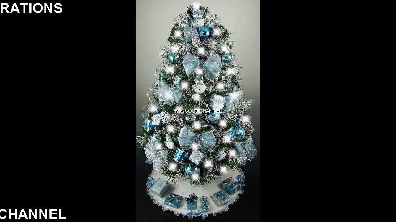 Blue Christmas Tree Decorations