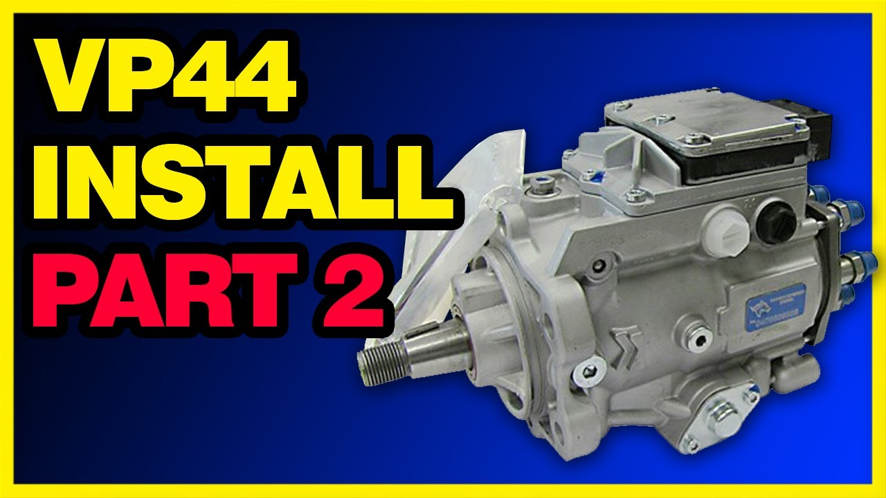 Vp44 Dodge Cummins Injection Pump Install Part 2 2 Youtube