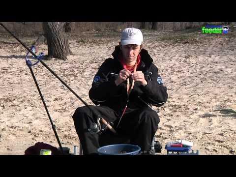 Весенняя ловля плотвы фидером с чемпионом мира Алексеем Страшным на р Днепр