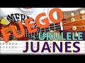 Fuego/Juanes Ukulele Tutorial-Lesson