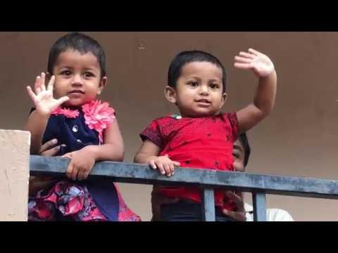 జాన్ వెస్లీ గారి కుమార్తె నిత్య & పాల్ ఇమ్మానుయేల్ గారి కుమార్తె శ్రేష్ట   3 min video
