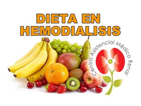 dieta para pacientes en diálisis con diabetes