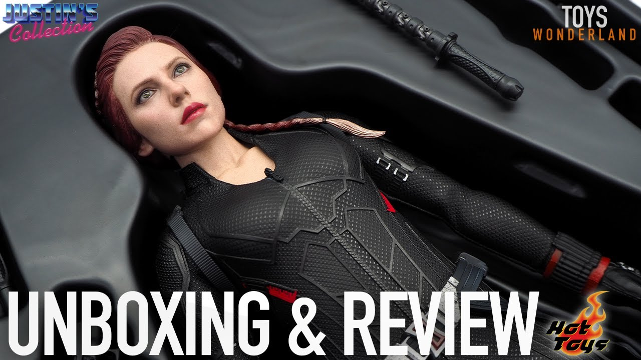 Hot Toys Black Widow Avengers Endgame Unboxing & Review