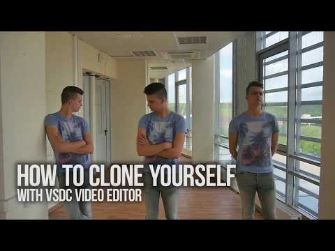 How to make a clone effect with VSDC Video Editor
