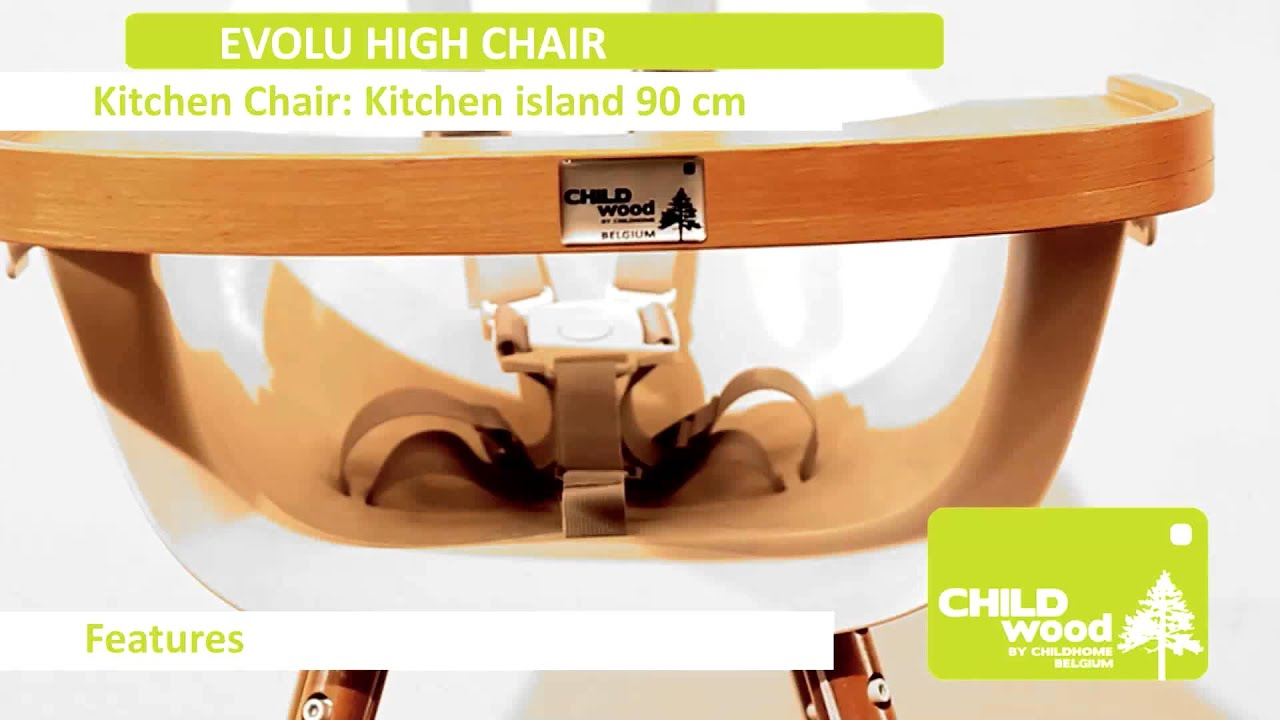 Childwood Evolu Evolu High Chair Youtube