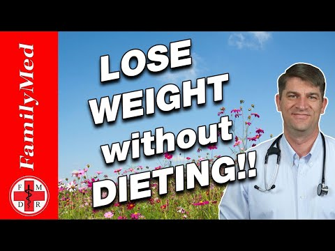 HOW TO LOSE WEIGHT WITHOUT DIETING | 5 SIMPLE STEPS!