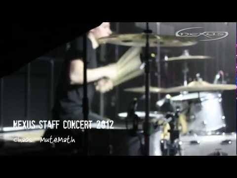 MuteMath - Chaos Cover - Nexus Staff Concert 2012