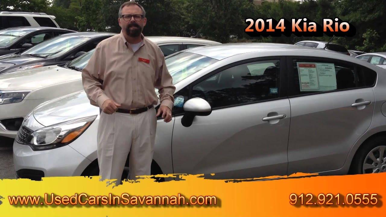 2014 Kia Rio Great Used Car for Sale in Savannah GA
