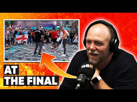 Mike Tindall reacts to the shocking scenes he saw at Wembley - Euro 2020 Final