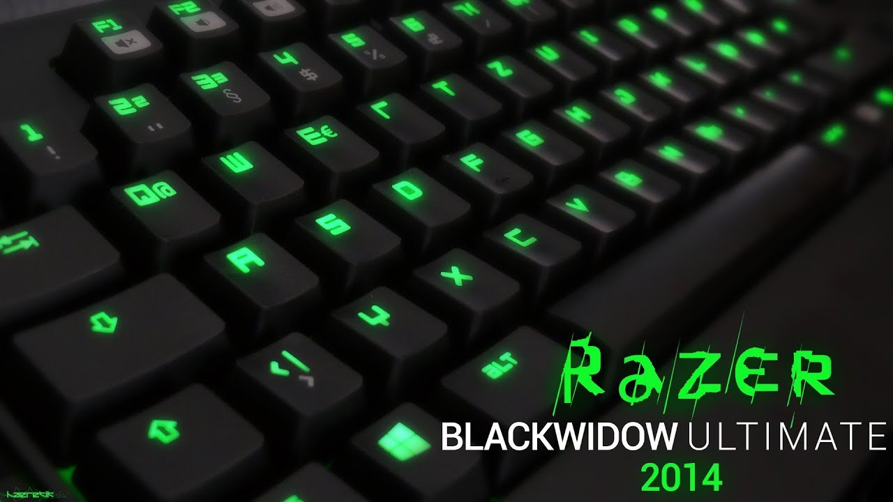 Minecraft 3d Live Wallpaper Razer Blackwidow Ultimate 2014 Mechanical Keyboard