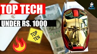 Top Tech Gadgets and Accessories Under Rs. 1000