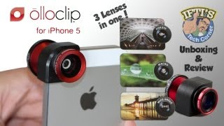 Olloclip - The 3-in-1 iPhone 5/5s Camera Lens! - Review