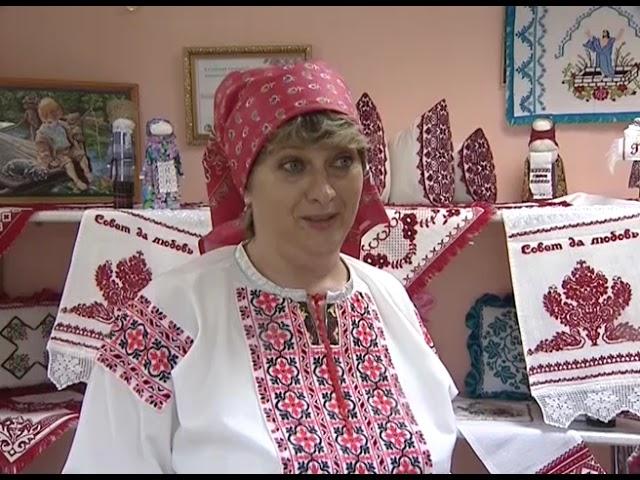 В Доме народного творчества открылась выставка вышивки Ларисы Бизюлёвой