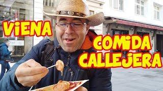 Comida Callejera en Viena - Pruebo DE TODO!