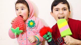 Celina and Hasouna Fake Fruits - سيلينا وحسونة
