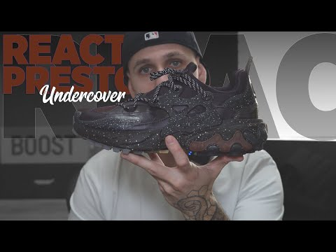 NIKE REACT PRESTO X UNDERCOVER REVIEW & ON FEET