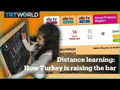 Turkey raises the bar with its distance learning programme during the pandemic