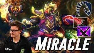Miracle Ember Spirit | DAMAGE DEALER | Dota 2 Pro Gameplay