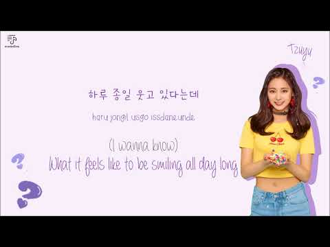 TWICE 트와이스 - What Is Love? Color-Coded-Lyrics Han l Rom l Eng 가사 by xoxobuttons