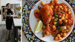 Курица с Нутом в Томатном Соусе - Быстрый и Сытный Обед - Рецепт от Эгине - Heghineh Cooking Show