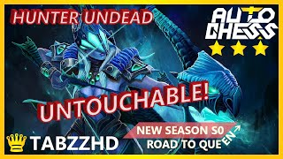 AUTO CHESS HUNTER UNDEAD BUILD | STILL ABLE TO CONTAIN MAGE!