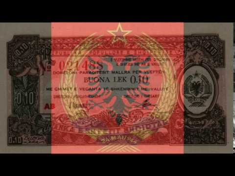 Currencies of the World: Peoples Socialist Republic of Albania; Albanian Lek (1965)