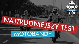 Najtrudniejszy Test Motobandy. Honda CBF 600 i CBF 500