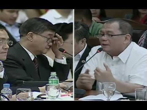 House committee hearing on alleged drug ops at BILIBID