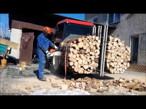 Pilenie dreva so Stihl ms661