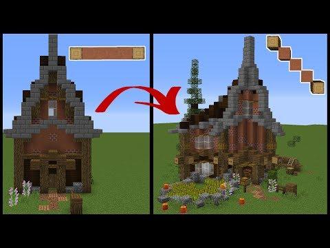 Minecraft Build School: Diagonal Houses