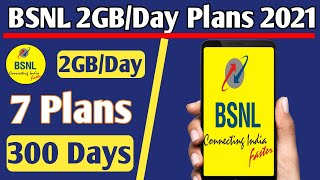 BSNL 4G Prepaid Recharge Plans & Offers List 2021 | BSNL 2GB/Day Plans Unlimited Calling & 4G Data