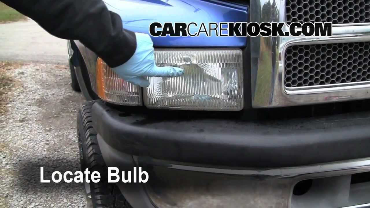 hight resolution of 1997 dodge ram turn signal headlight and tailight bulb change preview youtube
