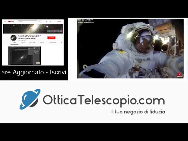 ISS Stazione Spaziale: Camminata Nello Spazio