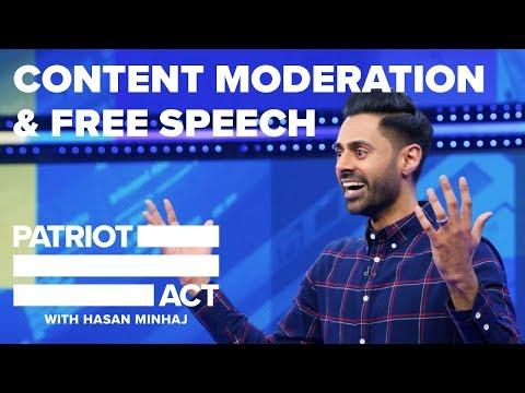 Content Moderation And Free Speech | Patriot Act with Hasan Minhaj | Netflix