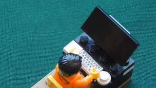 Самоделки №1 (КАК СДЕЛАТЬ LEGO КОМПЬЮТЕР)