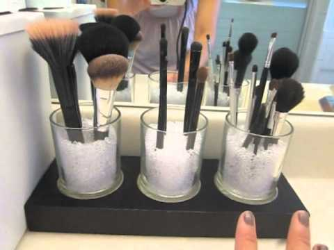 D.I.Y. Makeup Brush Holder Ideas & D.I.Y. Makeup Brush Holder Ideas - YouTube
