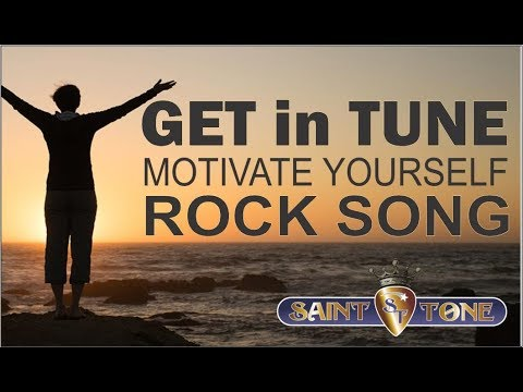 Saint Tone Get In Tune Lyric Video Motivational Uplifting Song