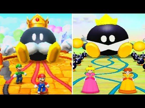 All Mario Party 5 Minigames - Top 100 Vs. Original (Comparison)