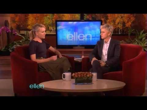 Portia de Rossi on The Ellen DeGeneres Show - 4th November 2011 - Part 2/2
