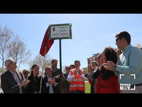 VÍDEO: Inaugurados los nuevos Jardines de la Cruz Roja
