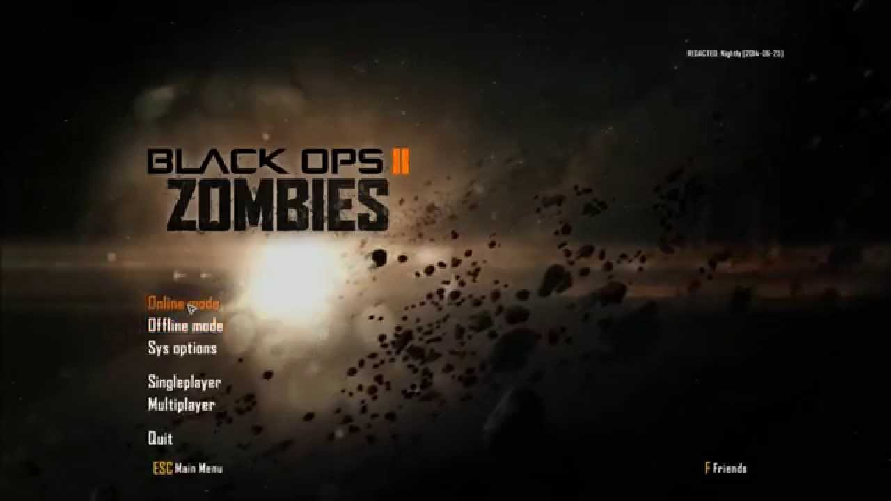 Black Ops 2 Redacted Online/Offline PC crack gameplay - Online matchmaking  is possible !